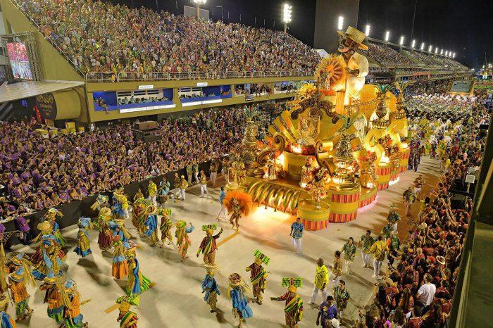 Brasil: Carnaval en Río de Janeiro