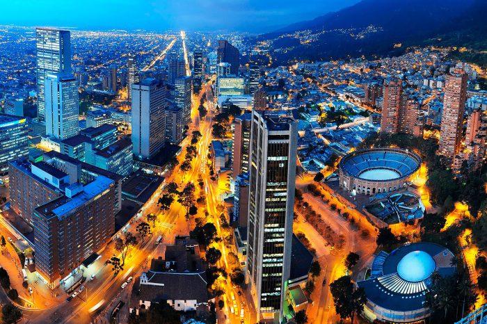 De paso por Bogotá