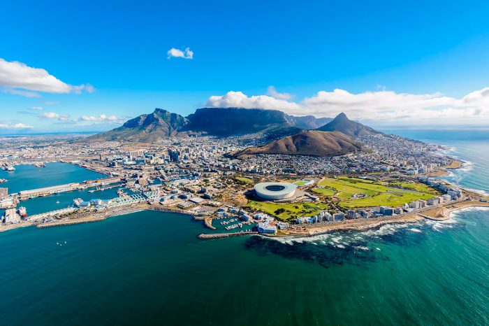 Leyendas de Sudáfrica