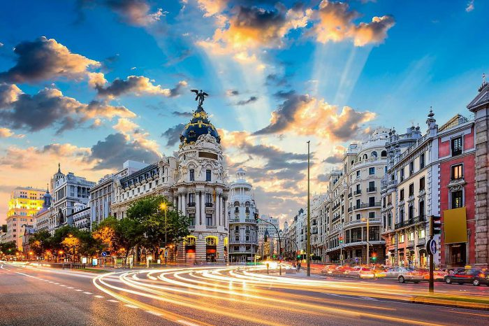 Vuelos a Madrid – Febrero 2022